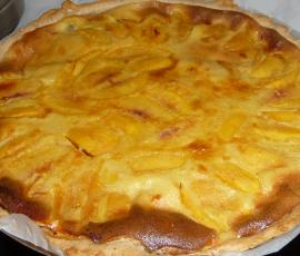 Tarte-aux-pêches-thermomix
