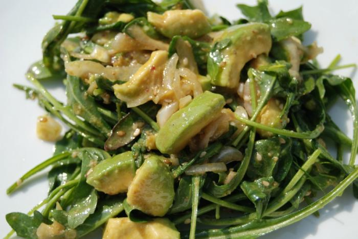 Salade-roquette-avocats